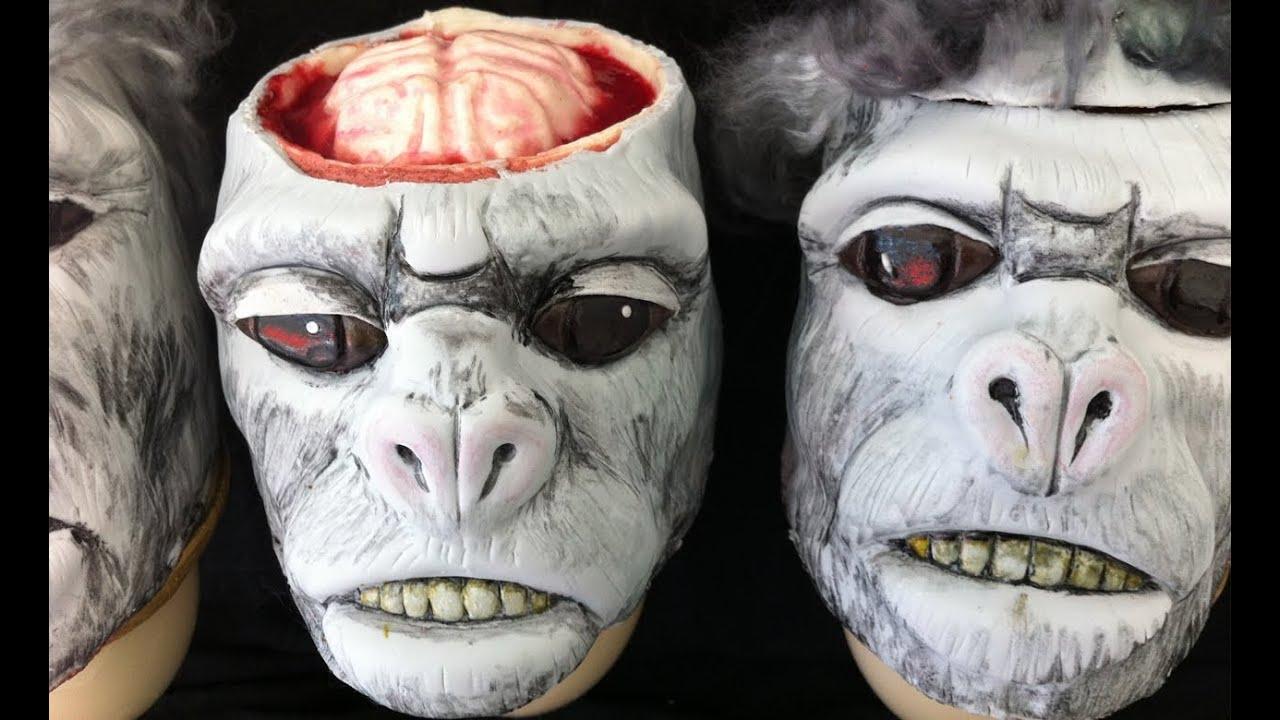 Ăn não khỉ tươi – Châu Á và Châu Phi