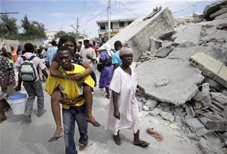 Động đất ở Haity 12/1/2010
