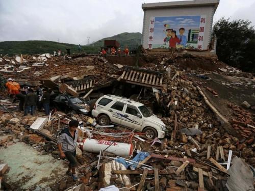 Động đất Trung quốc 2014
