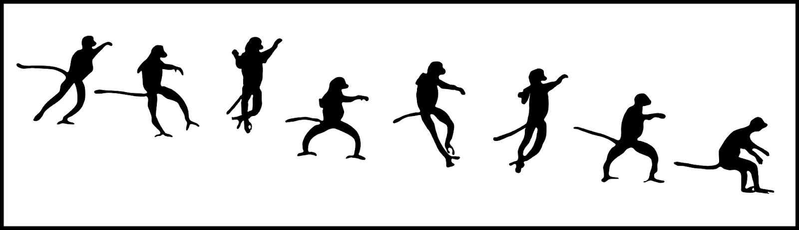 Cách di chuyển của Vượn Cáo Sifakas