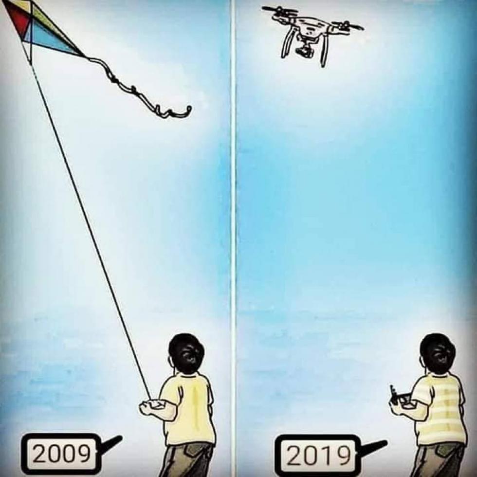 Những năm trước đây khi khoa học công nghệ chưa thật sự phát triển, trẻ em có một tuổi thơ với trò chơi dân dã, mộc mạc - và năm 2019 mọi thứ đã khác